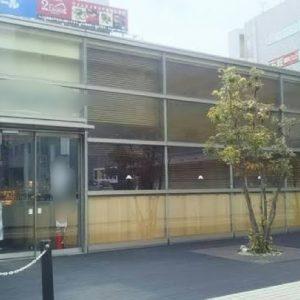 船橋!元大手カフェチェーン店の駅直結のロータリー店舗!
